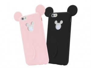 ETUI DO iPHONE USZY MYSZKI MIKI APPLE
