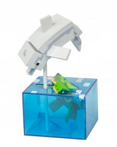 FIGURKA MINECRAFT EARTH ADVENTURES DELFIN I ŻÓŁW