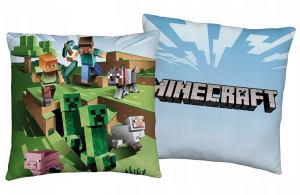PODUSZKA MINECRAFT 40/40 CM STEVE ALEX CREEPER