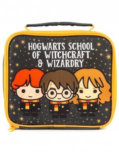 TORBA ŚNIADANIOWA LUNCHBOX HARRY POTTER  CHIBI